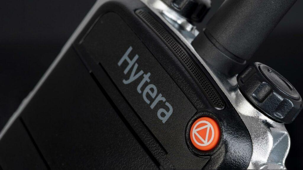 Hytera Mobilfunk TETRA Terminals. Critical communications helping you to respond and achieve