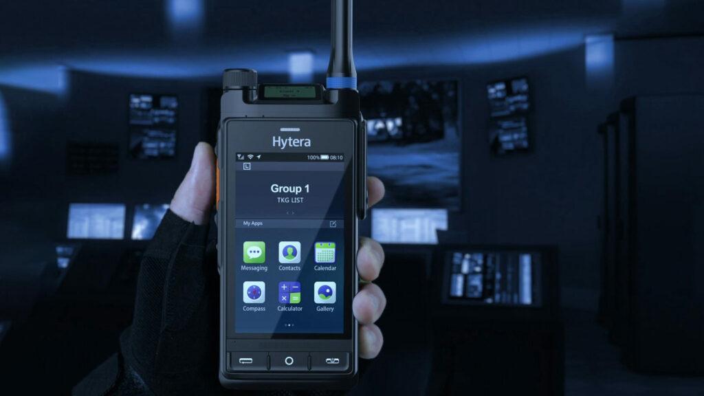Hytera Mobilfunk PTC760 LTE/TETRA-Multimode radio Broadband Radios