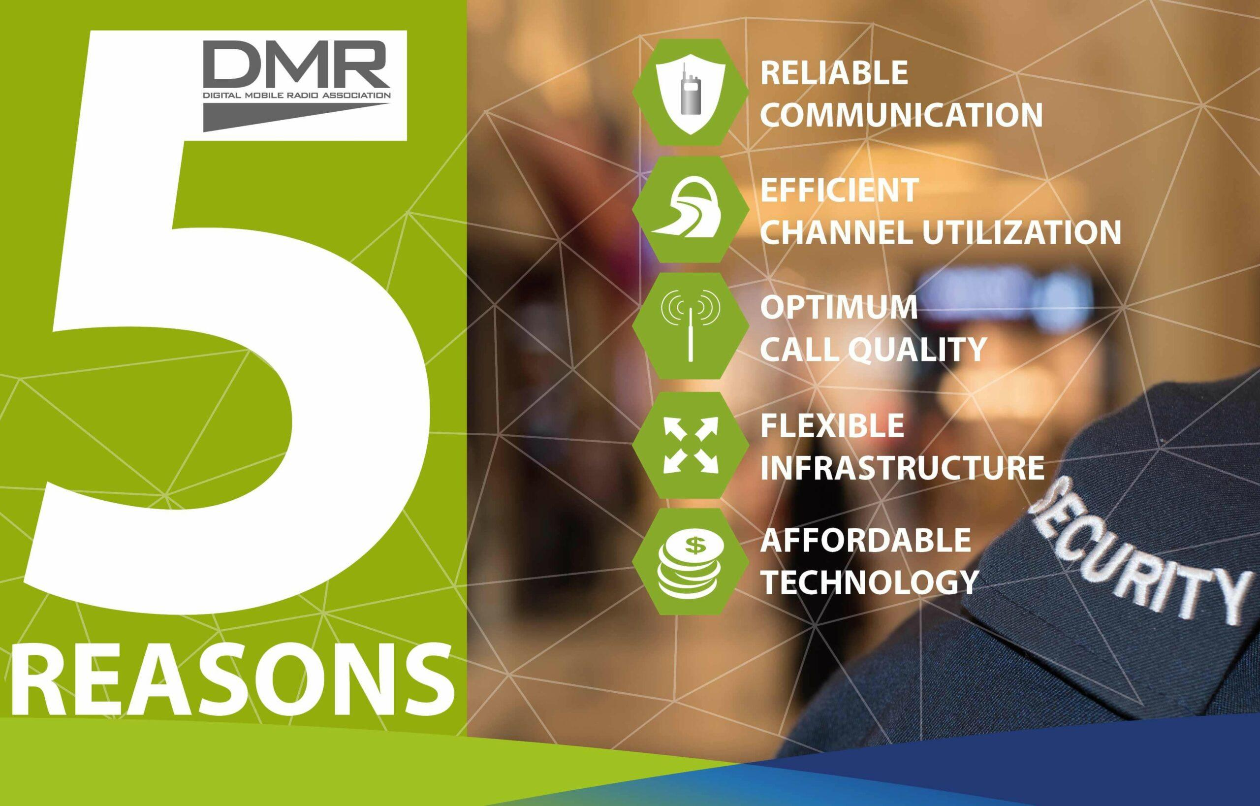 Hytera Mobilfunk DMR 5 Reasons
