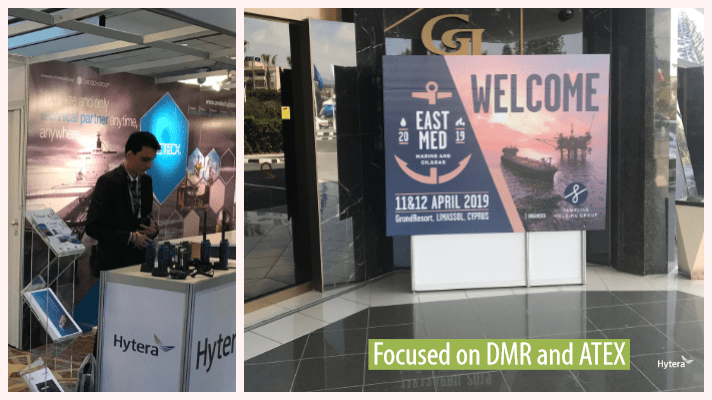 Hytera Mobilfunk East-Med-Exhibition-Limassol