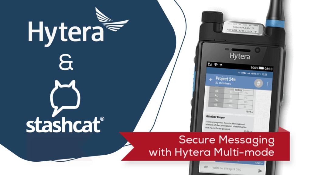 Hytera Mobilfunk PTC680 LTE-/TETRA-Multimode Funkgeraet