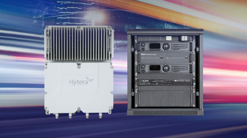 Hytera Mobilfunk DMR Trunking Cube und Hytera DS-6211 DMR Trunking Basisstation