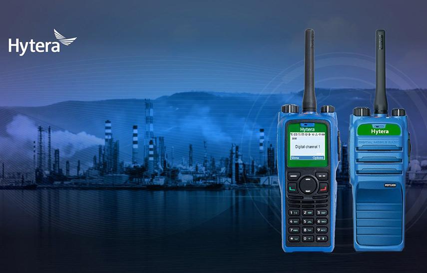 Hytera Mobilfunk DMR PD715IS ATEX und PD795IS ATEX