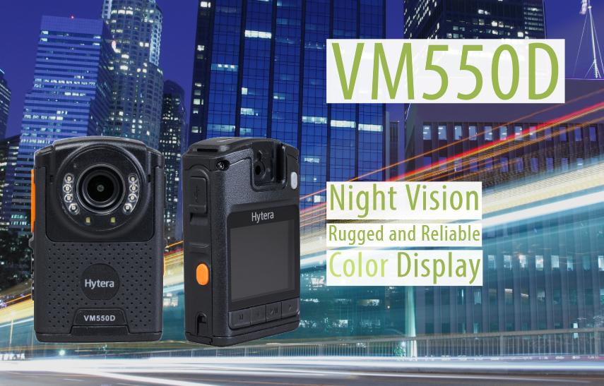 Hytera Mobilfunk VM550D Bodycam.