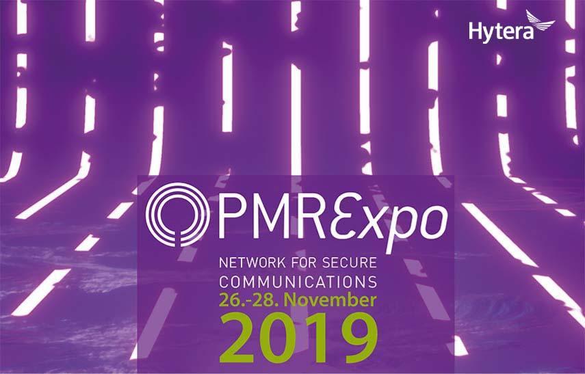 Hytera Mobilfunk PMR Expo 2019