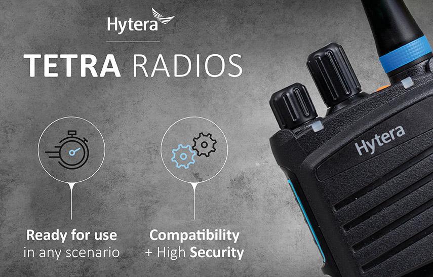TETRA Funktechnik von Hytera Mobilfunk – leistungsstark, zuverlässig und sicher