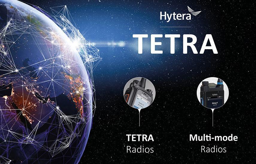TETRA- und Multimode Funkgeraete von Hytera Mobilfunk für Anwender