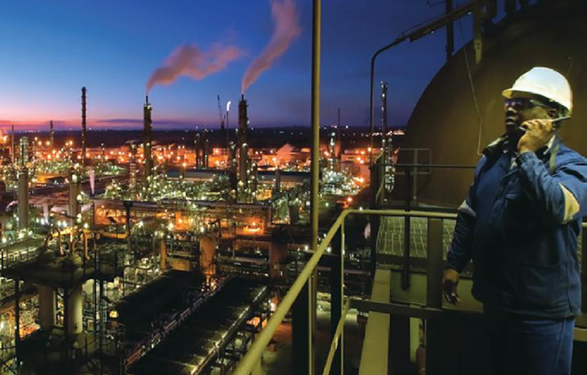 Hytera Mobilfunk Sasol Industrie in Südafrika