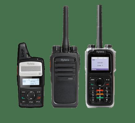 Hytera Mobilfunk DMR Funkgeraete PD365 PD505 PD685
