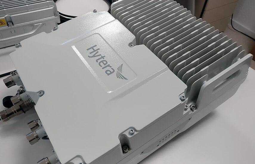 Hytera DMR Trunking Cube. Die flexibelste DMR-Basisstation